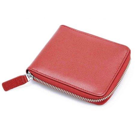 Royce Leather RFID Blocking Zip Around Wallet in Saffiano Leather - image 1 de 1