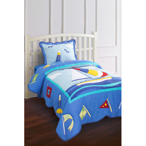 Hallmart Kids Nantucket 3 Piece Quilt Set