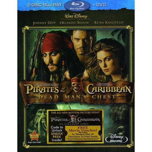 Pirates Of The Caribbean: Dead Man's Chest (2-Disc Blu-ray   DVD) (Widescreen)