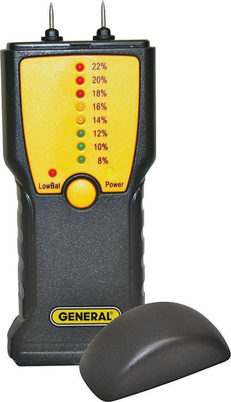 Pin Type Moisture Meter, General, MM1E by General Tools & Instruments