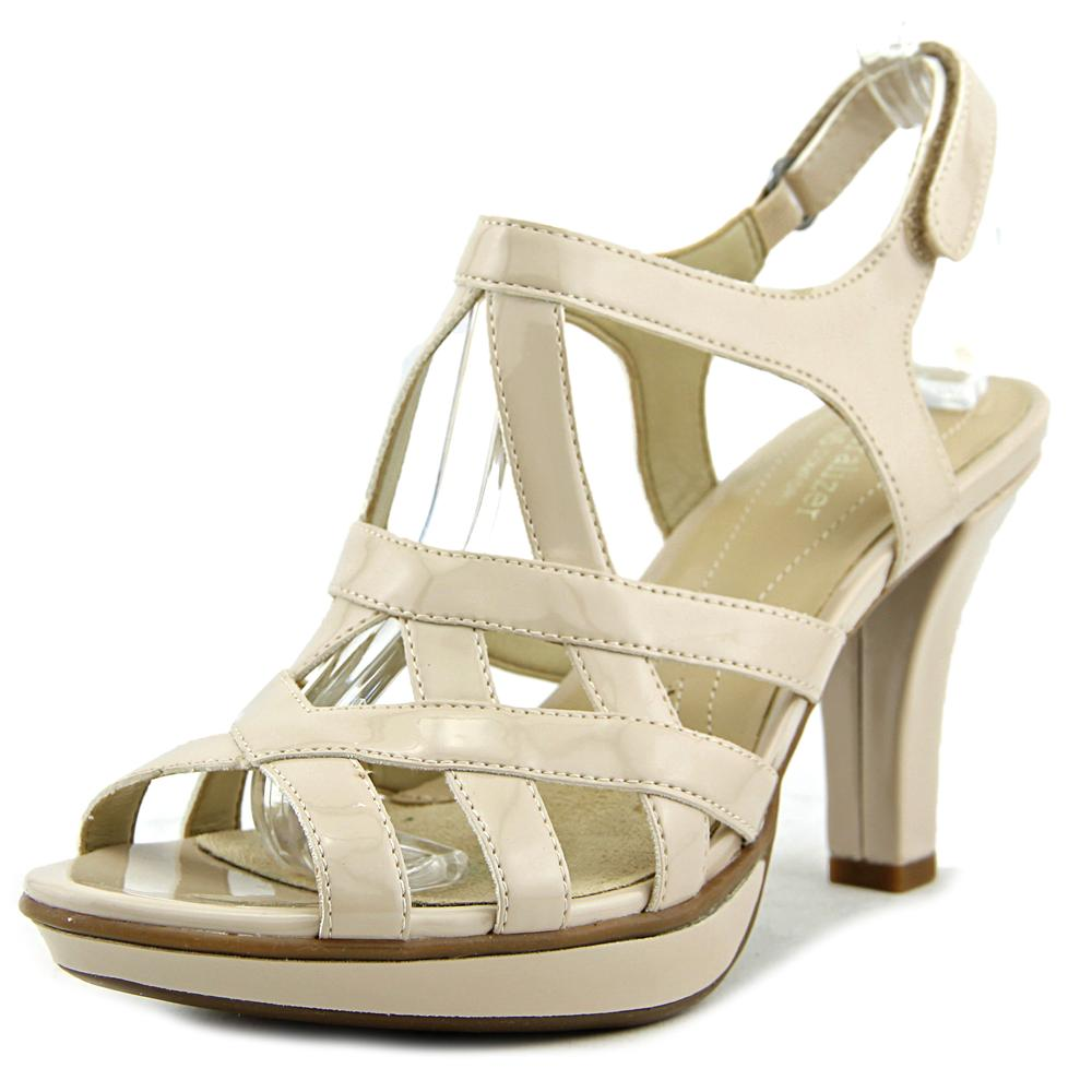 Naturalizer Doreen Open Toe Patent Leather Sandals by Naturalizer