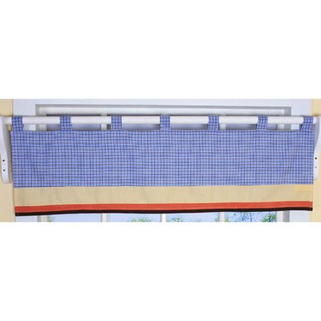 Sports Valance (Geenny All Star Sports Valance Nursery Window Treatment 16 58W)