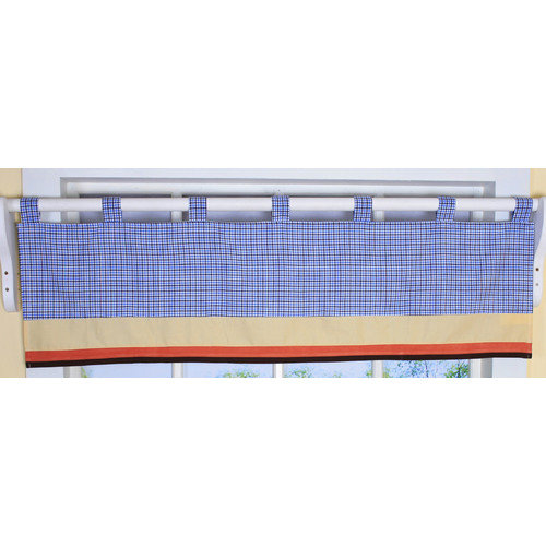 Geenny All Star Sports Valance Nursery Window Treatment 16 58W 8.66H