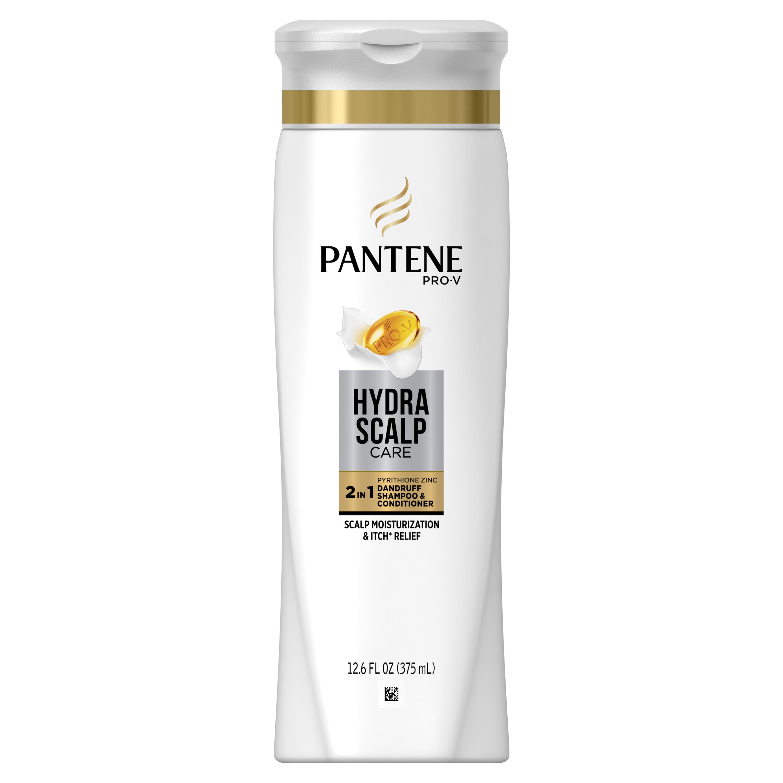 Pantene Pro-V Hydra Scalp Care 2in1 Dandruff Shampoo & Conditioner, 12.6 fl oz