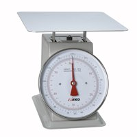 Winco SCAL-9130 130-Pound/59.09kg Scale with 9-Inch Dial