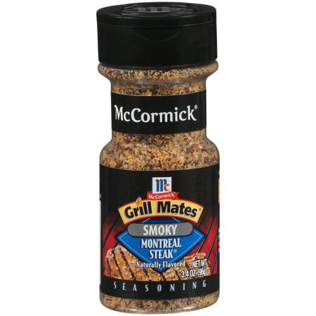(2 Pack) McCormick Grill Mates Smoky Montreal Steak Seasoning, 3.4 oz
