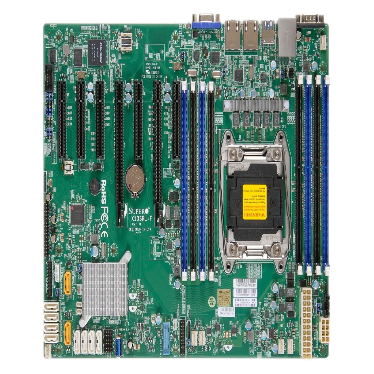 Super Micro X10sri-f Server Motherboard - Intel C612 Chip...
