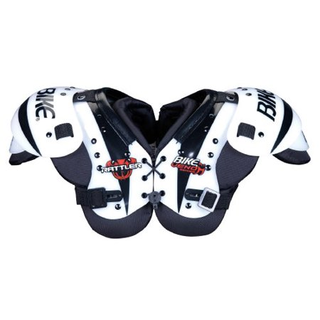 Bike BYSH11 Youth Rattler Serier Shoulder Pad (WHI-White - Large) ()
