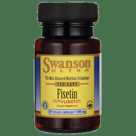 Swanson Fisetin 100 mg 30 Veg Caps