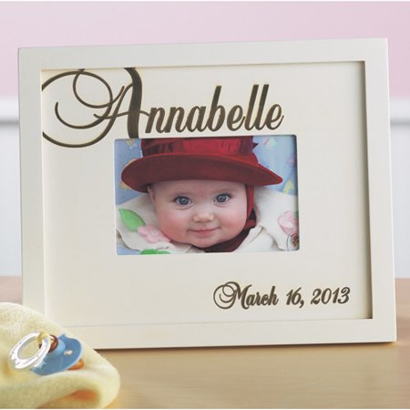 Personalized Script Baby Name Frame Walmartcom