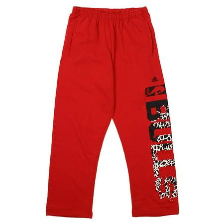 Adidas NBA Men's Chicago Bulls Primal Fleece Sweatpants, (Chicago Bulls Youth Adidas Fleece)