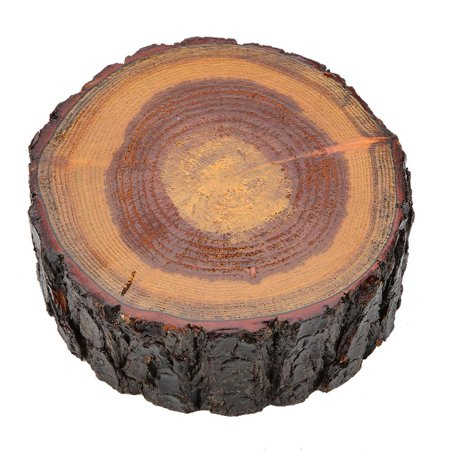 Qiilu 1PC Wooden Natural Round Ashtray Cigarette Tobacco Smoking Ash Tray Home Office Use New ,Ashtray, Wood Ashtray - image 1 of 4