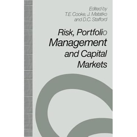Risk  Portfolio Management And Capital Markets  1992