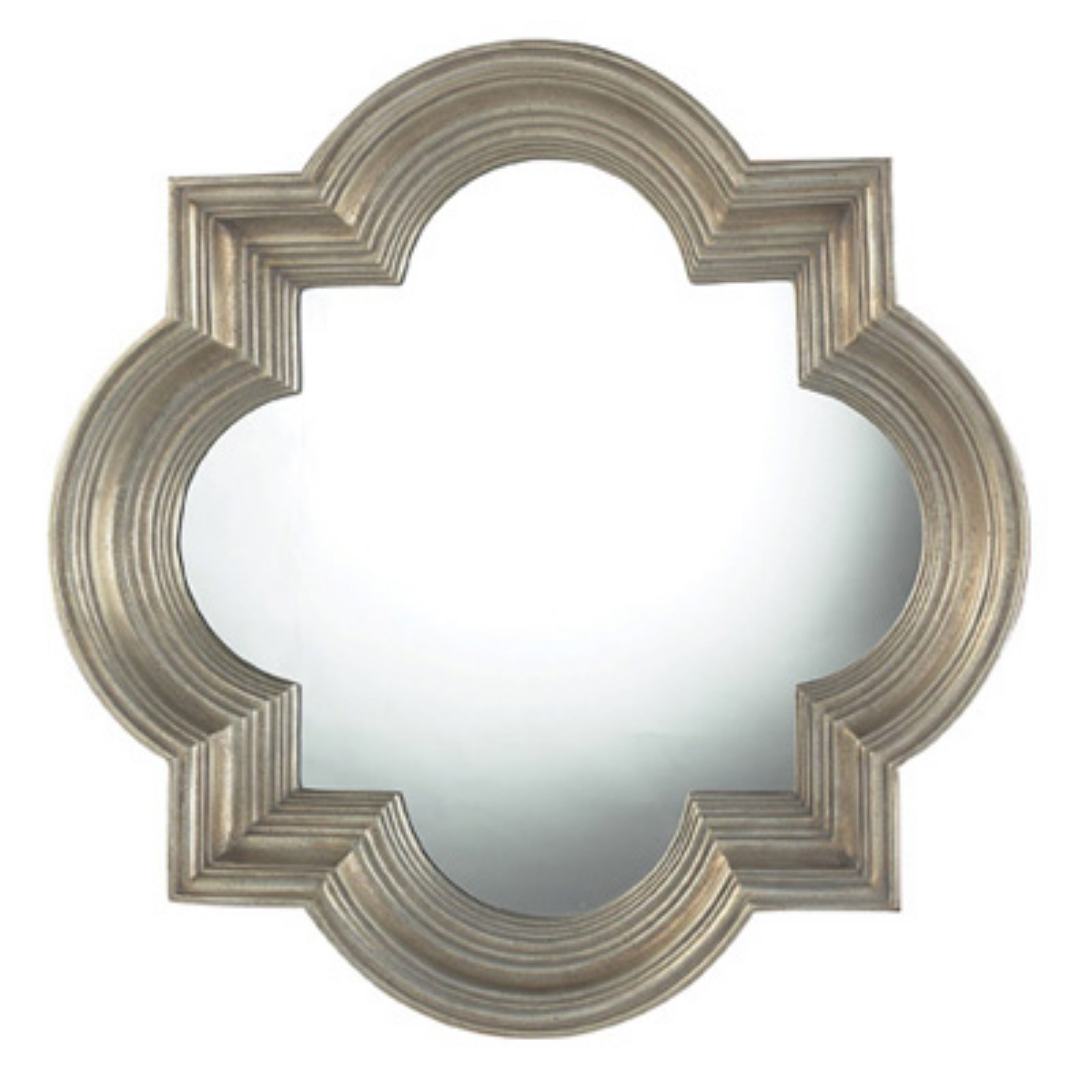 Sterling Obourne Midland Quatrefoil Mirror - 30W x 30H in.