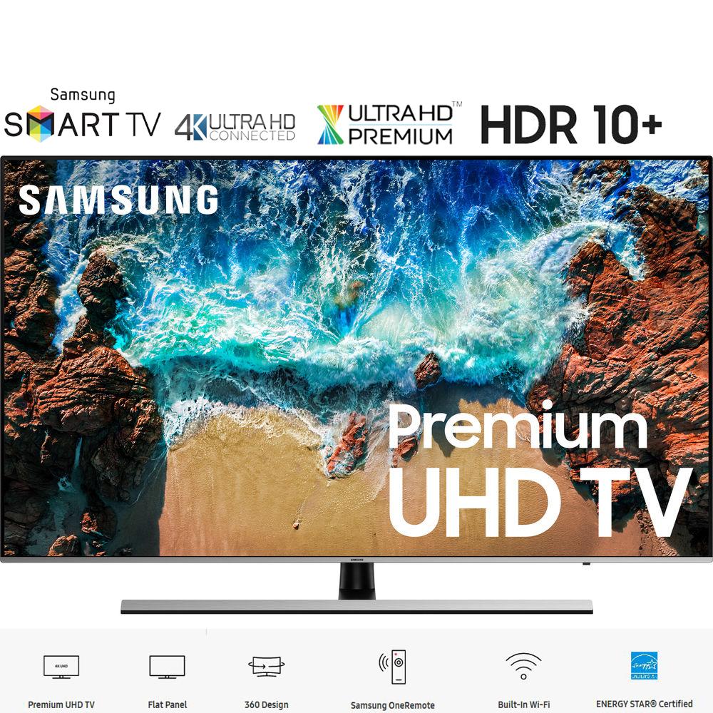 "Samsung UN49NU8000 49"" NU8000 Smart 4K UHD TV (2018 Model) - (Certified Refurbished)"