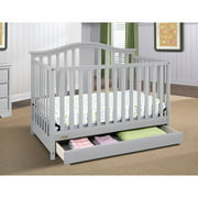 Graco Solano 4-in-1 Convertible Crib with Drawer, Choose Your Finish
