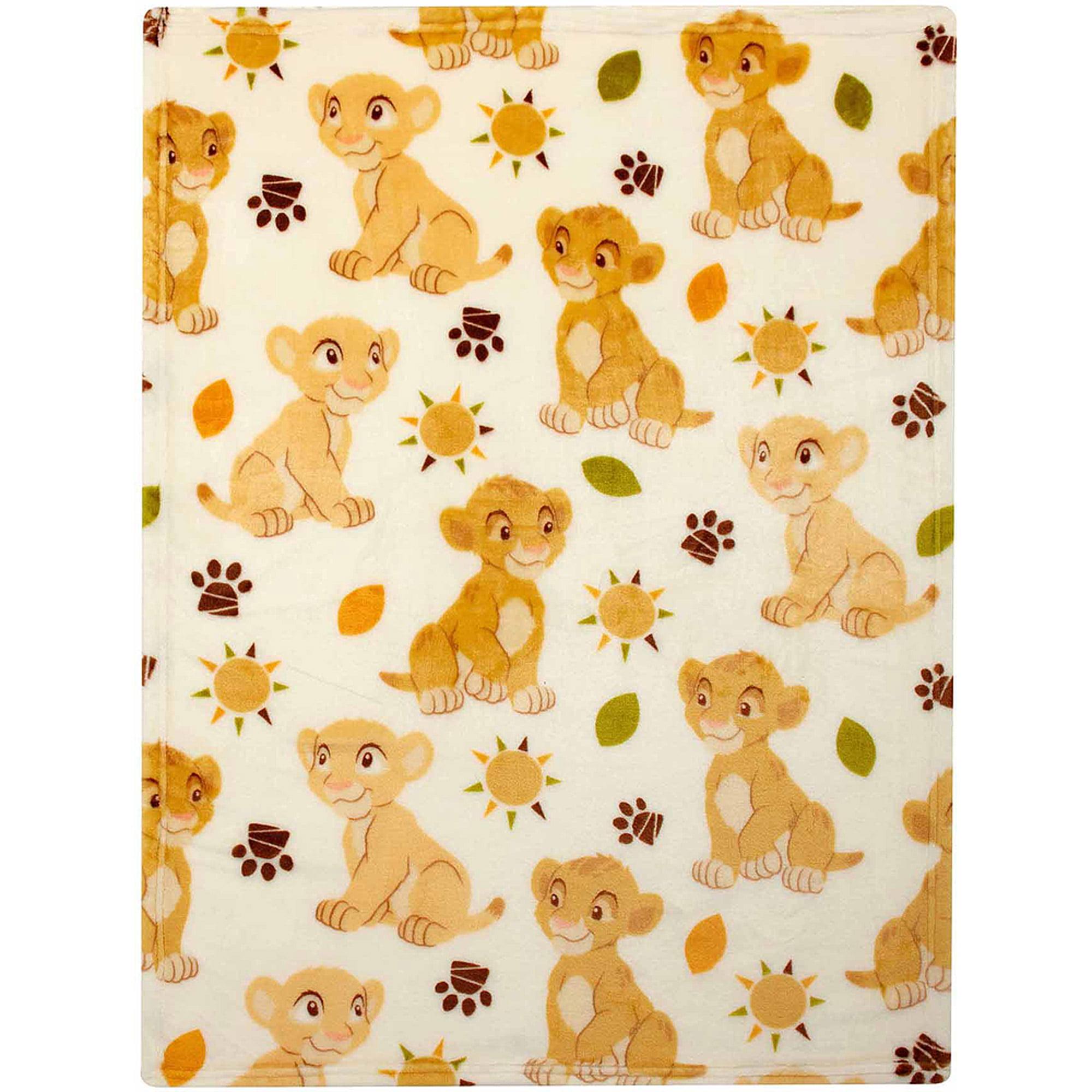Disney Lion King Plush Printed Blanket by Disney