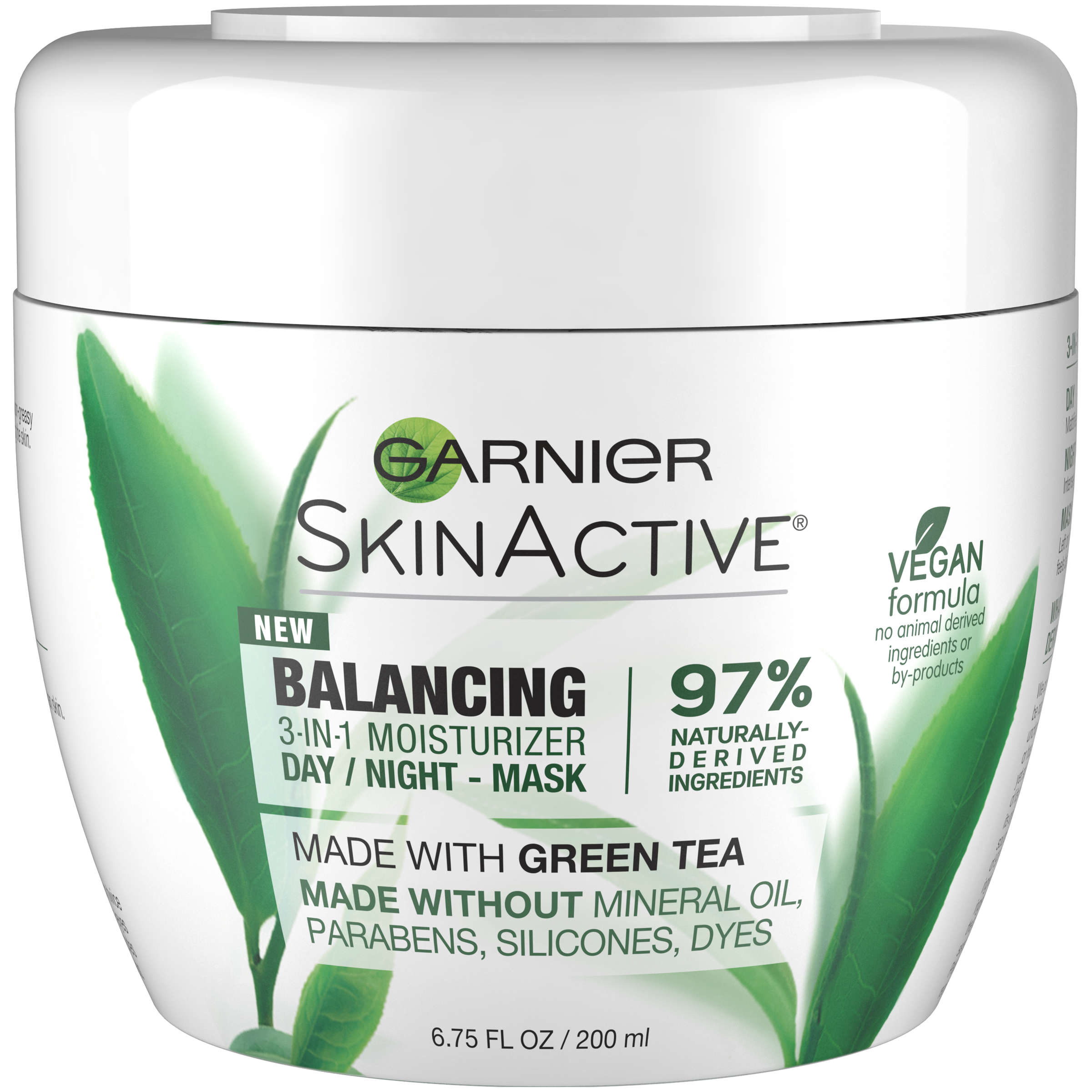 Garnier SkinActive Balancing 3-in-1 Moisturizer Day/Night Mask, 6.75 fl oz