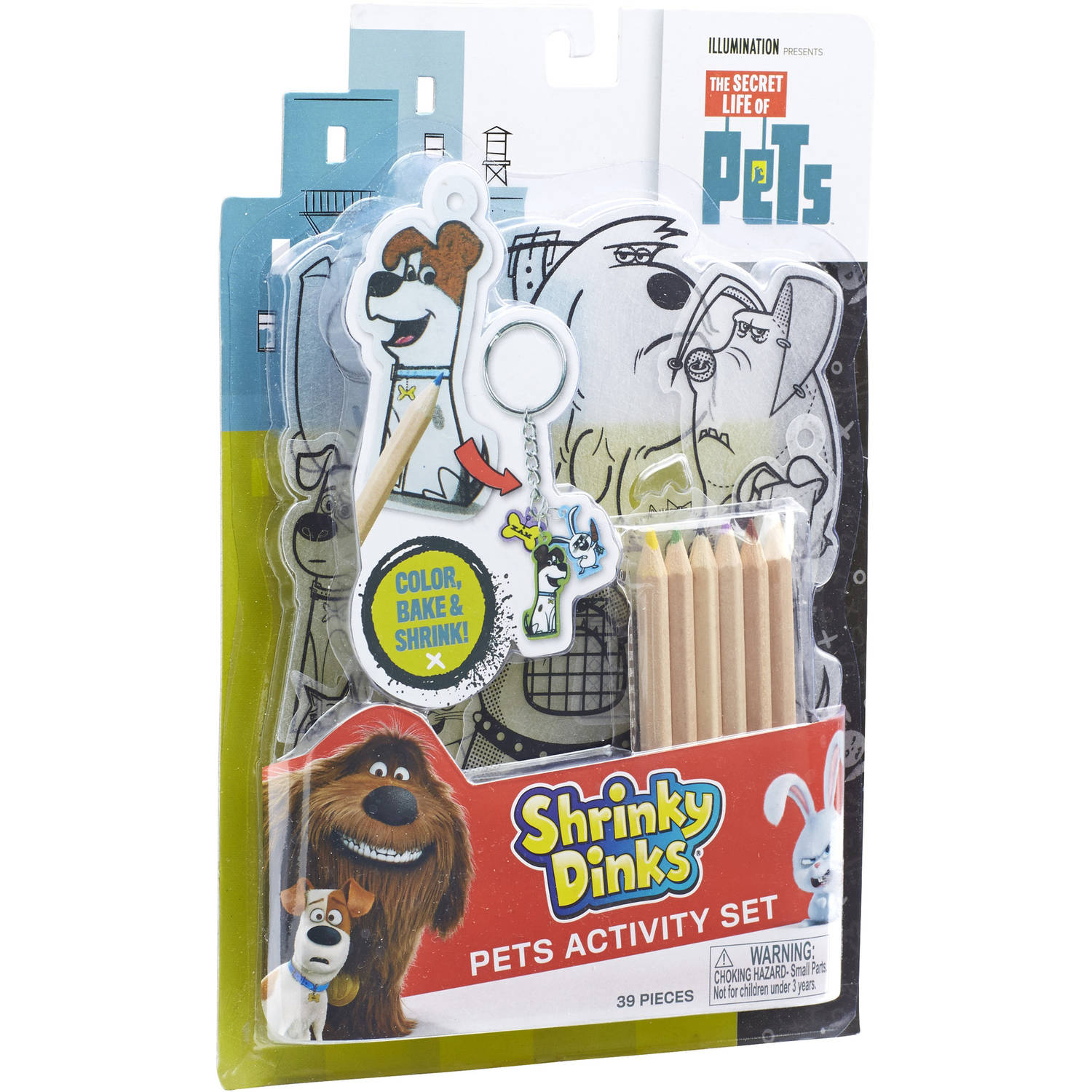 The Secret Life of Pets Shrinky Dinks Activity Set