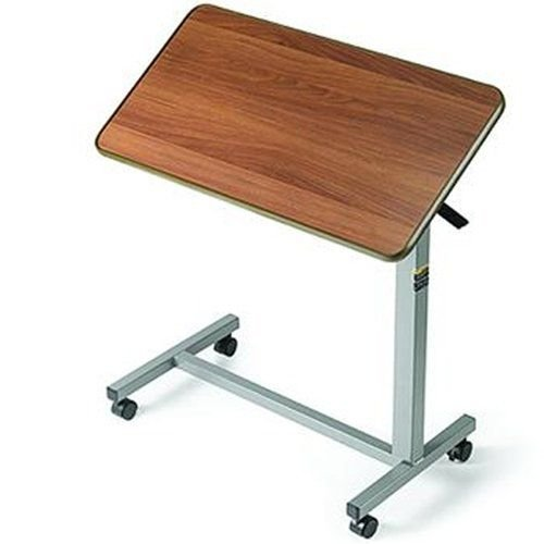Invacare Tilt-Top Overbed Table  30-in L x 15-in W x .75-in D