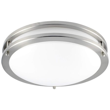 Luxrite Led Flush Mount Ceiling Light 12 Inch Dimmable