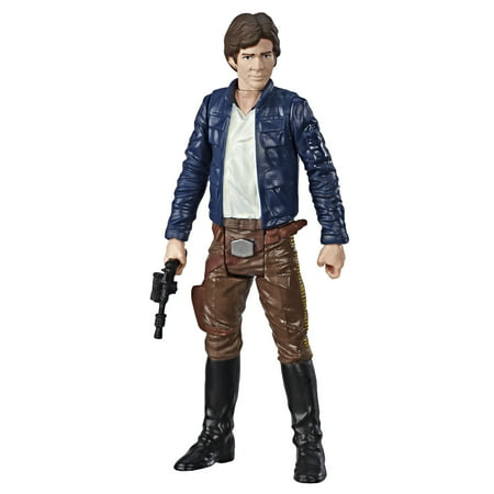 Star Wars Galaxy of Adventures Han Solo Figure and Mini - Han Solos Kids