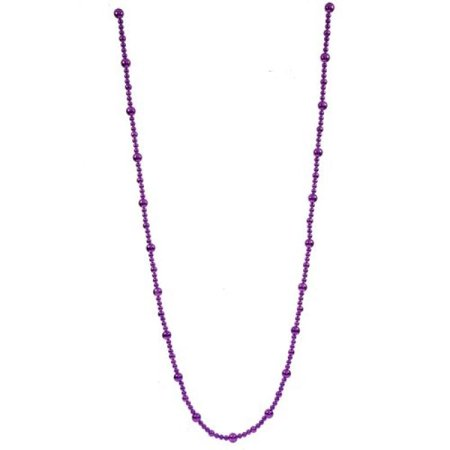 Vickerman 9' Purple Shiny Finish Faceted Ball Ornament Christmas Garland - image 1 de 1