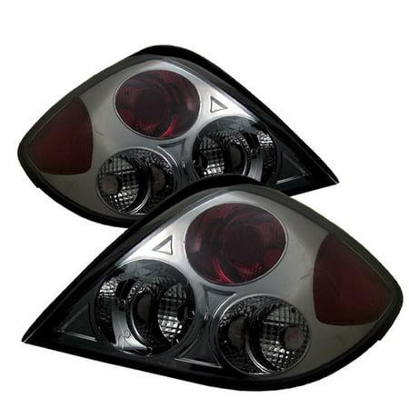 Smoked Fits 03-05 Tiburon Sport Coupe JDM Tail Brake Lights Lamp Pair Left+Right