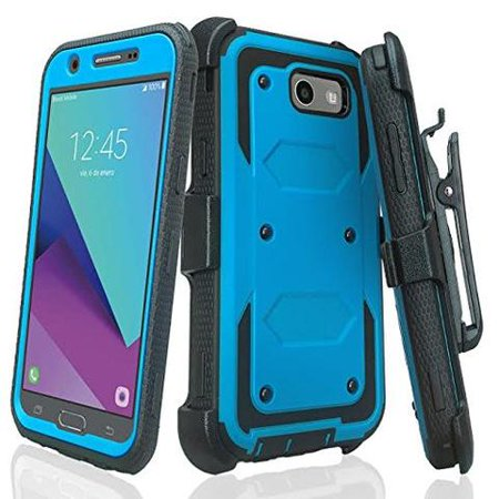 on sale 843be 055bb Samsung Galaxy J3 Luna Pro, J3 Emerge Case, J3 2017, J3 Prime, Amp Prime 2,  Express Prime 2, Sol 2, J3 Mission, J3 Eclipse, [ Tempered Glass Screen ...