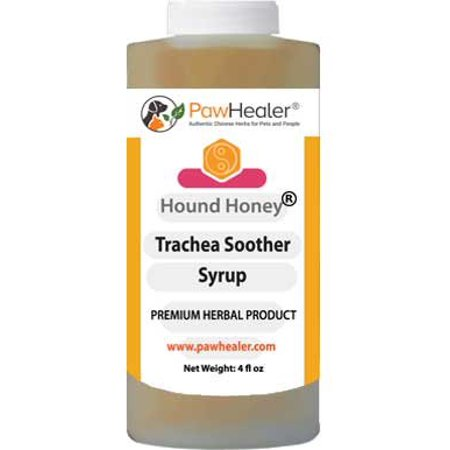 Hound Honey Cough Syrup - Natural Herbal Remedy for Symptoms of Collapsed Trachea