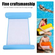 FAGINEY Pool Float,Air Mattress Swimming Pool Beach Inflatable Float Cushion Bed Lounge, Inflatable Float