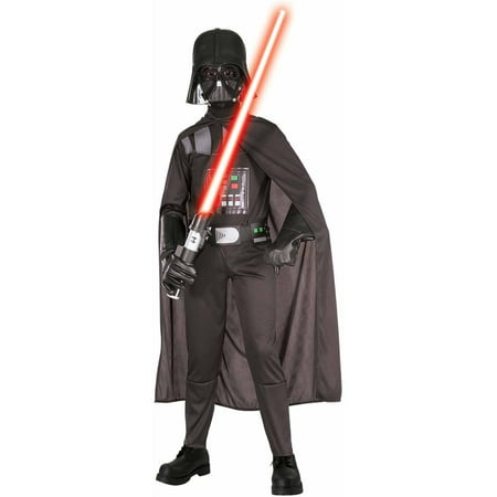 Simple Halloween Costumes Black Dress (Darth Vader Child Halloween)