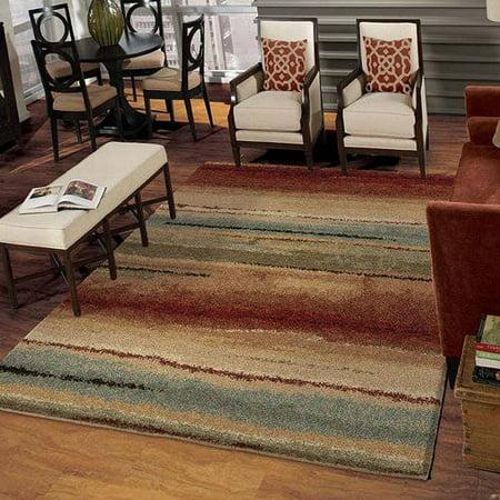 Orian Rugs Plush Stripes Capizzi Multi Area Rug Available