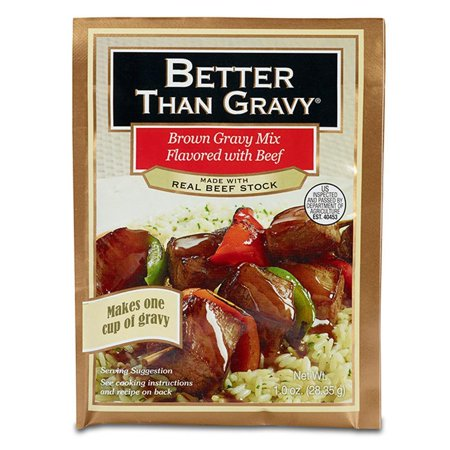 Better Than Gravy Flavored with Beef Gravy Mix, 1.25 Oz (Pack of