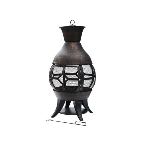 Zhejiang Yayi Metal Technology FP-51117 Concordia Chiminea Firepit, Cast Iron by ZHEJIANG YAYI METAL TECHNOLOGY CO