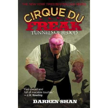 Cirque Du Freak #3: Tunnels of Blood : Book 3 in the Saga of Darren