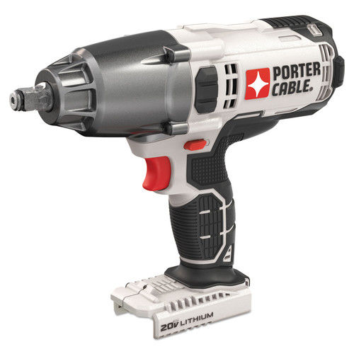 PORTER CABLE 20-Volt Max Lithium-Ion Impact Wrench (Bare Tool), PCC740B