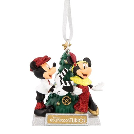 Disney Holiday Ornament Mickey and Minnie Hollywood Studios Tree New with Tags - Mickey And Minnie Ornaments