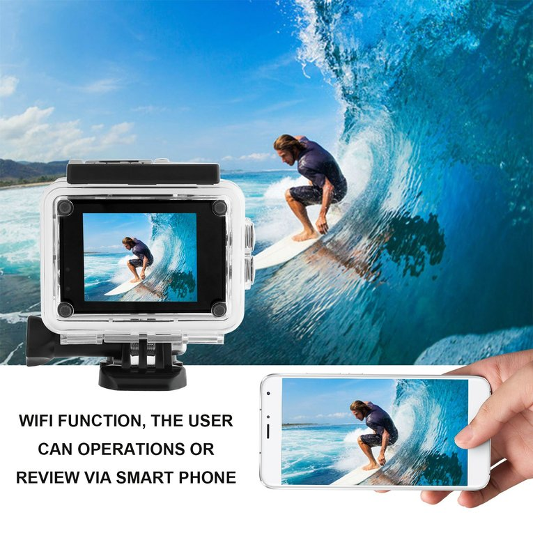 Golden Sj60 Waterproof 4K Wifi Hd 1080P Ultra Sports Action Camera Dvr Cam Camcorder