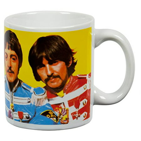 - Vandor 64061 The Beatles Ceramic Mug Sgt. Peppers, Multicolored, 12-Ounce