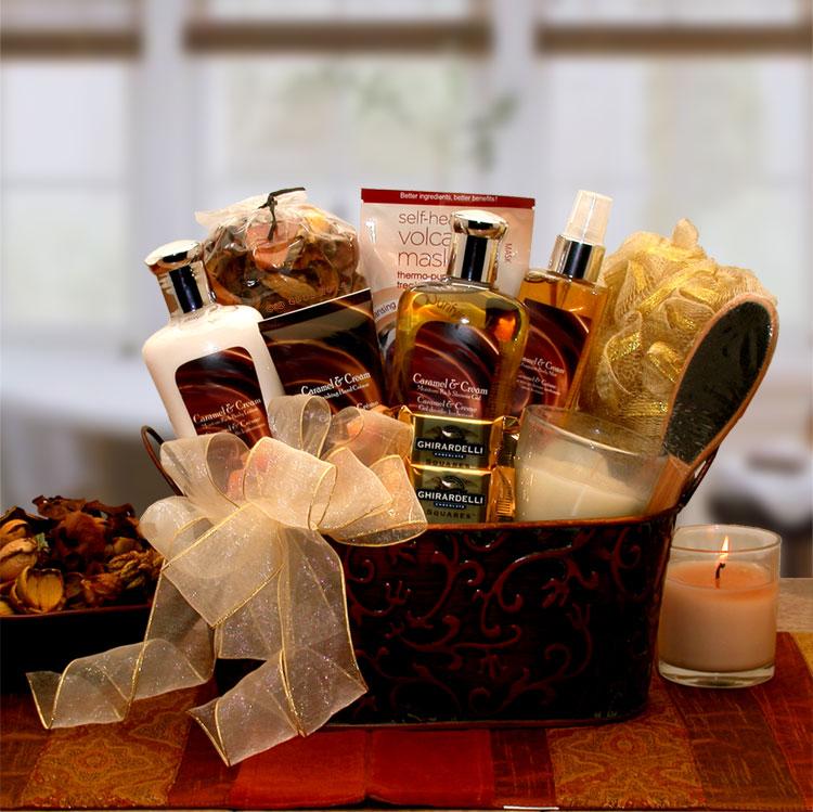Gift Basket 8413692 Caramel & Creame Bliss Spa Gift Basket