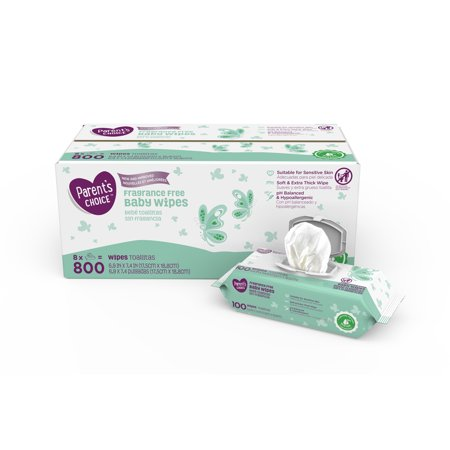 Parents Choice Fragrance Free Baby Wipes  Choose Your Count
