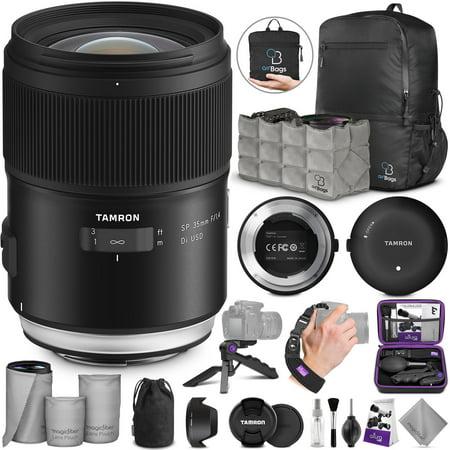 Tamron SP 35mm f/1.4 Di USD Lens for Canon EF w/Advanced Photo & Travel