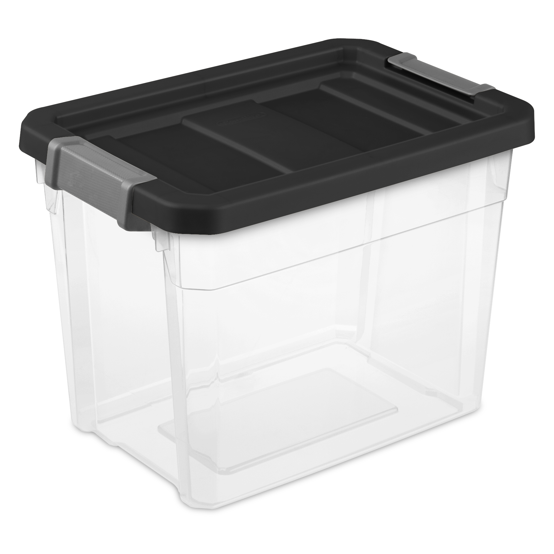 Sterilite, 7.5 Gal./28 L Stacker Box, Case of 6