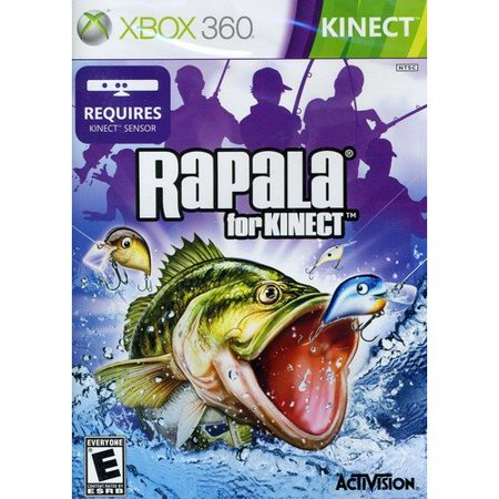 Games rapala for kinect (xbox 360) was sold for r240. 00 on 4 dec.