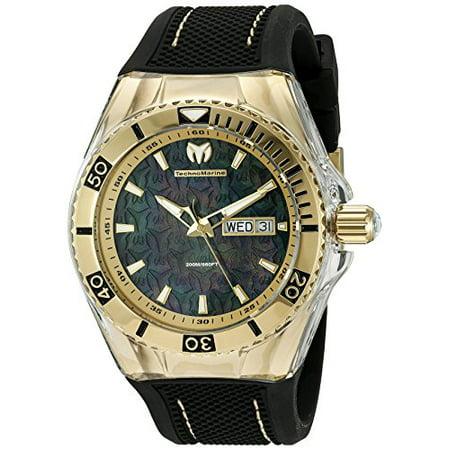 Men's TM-115213 Cruise Monogram Quartz Black Dial Watch ()