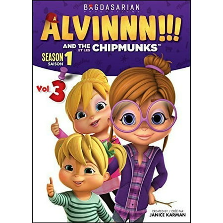 Alvin And The Chipmunks Cartoon Halloween (Alvin and the Chipmunks: Season 1 Volume 3)