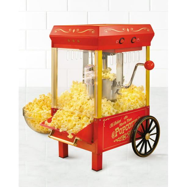 Nostalgia Kpm508 Vintage 2 5 Ounce Tabletop Kettle Popcorn Maker