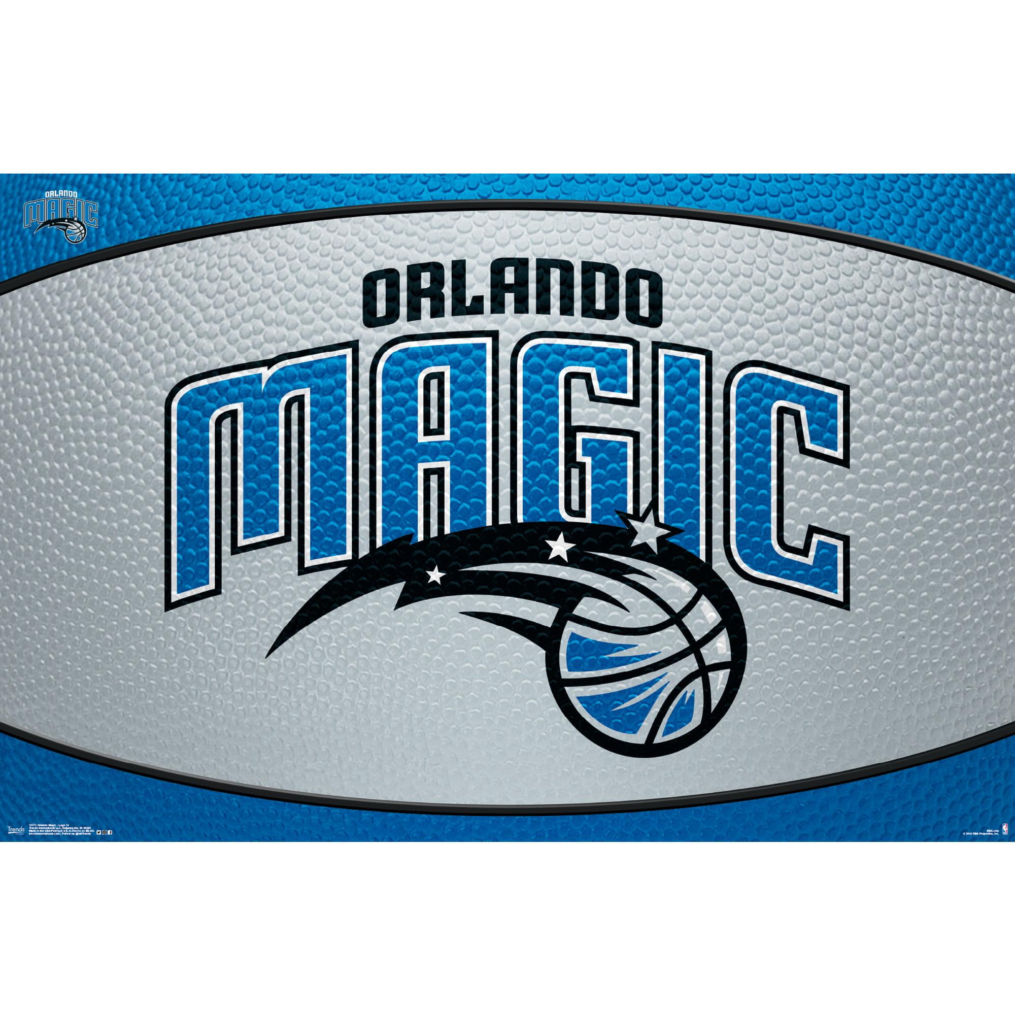 Orlando Magic 22'' x 34'' Logo Team Poster - No Size