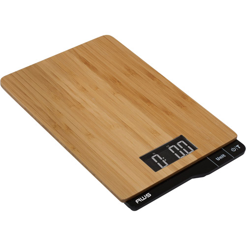 American Weigh Bamboo Digital Kitchen Scale